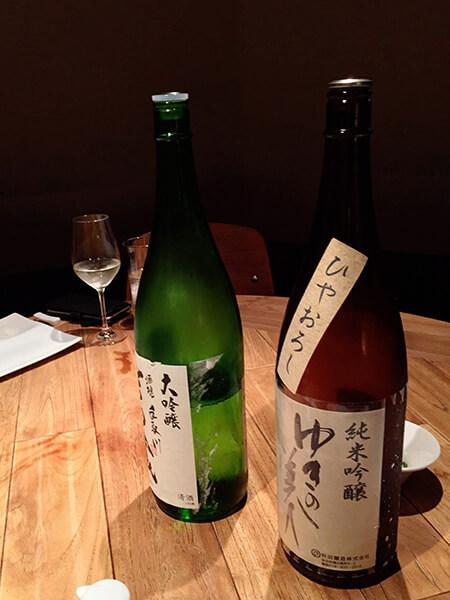 ローストホース日本酒画像