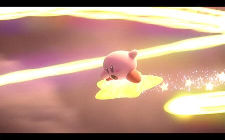 「灯火の星」カービィ画像